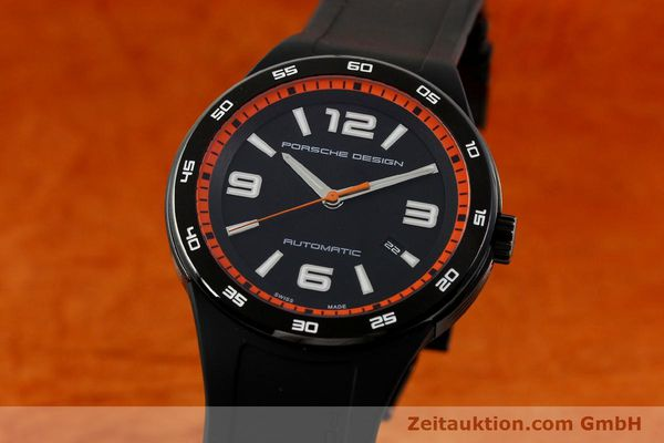 PORSCHE DESIGN FLAT SIX STEEL AUTOMATIC KAL. ETA 2892A2 LP: 2450EUR [151046]