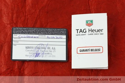 TAG HEUER CARRERA DAY-DATE CHRONOGRAPH AUTOMATIK STAHL CAL 16 NP: 4650,- EURO [151050]