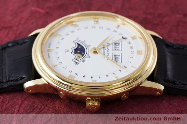 Used luxury watch Blancpain Villeret 18 ct gold automatic Kal. 6595 VINTAGE  | 151055 05