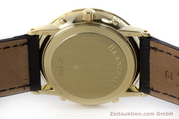 Used luxury watch Blancpain Villeret 18 ct gold automatic Kal. 6595 VINTAGE  | 151055 09