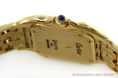 CARTIER LADY 18K (0,750) GOLD PANTHERE DAMENUHR GOLDBAND VP: 19000,- EURO [151056]