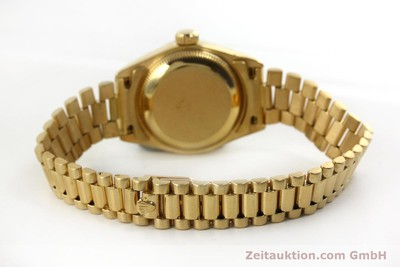ROLEX LADY DATEJUST 18 CT GOLD AUTOMATIC KAL. 2135 LP: 20600EUR [151057]