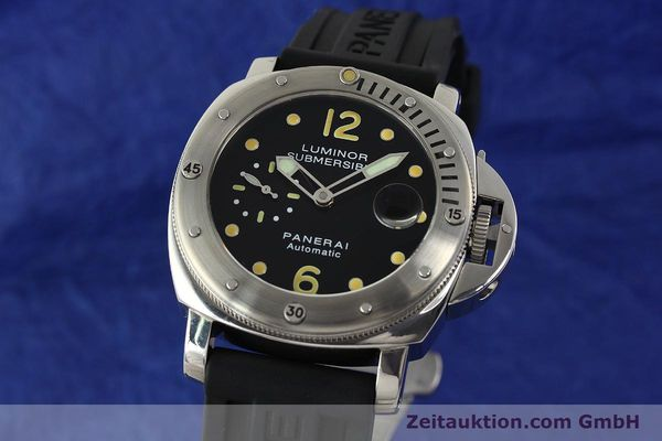PANERAI LUMINOR SUBMERSIBLE PAM 00024 AUTOMATIK OP6561 HERRENUHR VP: 6600,- EURO [151070]