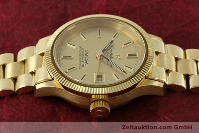 OMEGA LADY 18K GOLD CONSTELLATION CHRONOMETER AUTOMATIK DAMENUHR VP: 18100,- Euro [151074]