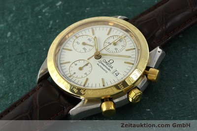 OMEGA SPEEDMASTER CHRONOGRAPH STEEL / GOLD AUTOMATIC KAL. 1155 LP: 3020EUR [151084]