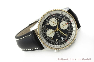 BREITLING NAVITIMER CHRONOGRAPH STEEL / GOLD AUTOMATIC KAL. B13 ETA 7750 [151092]