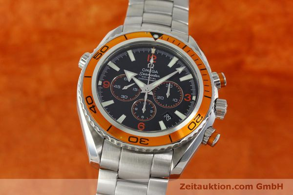 OMEGA SEAMASTER PLANET OCEAN CO-AXIAL CHRONOGRAPH HERRENUHR VP: 6500,- EURO [151101]