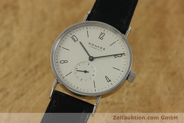 NOMOS TANGENTE STEEL MANUAL WINDING KAL. ETA 7001 LP: 1320EUR [151103]