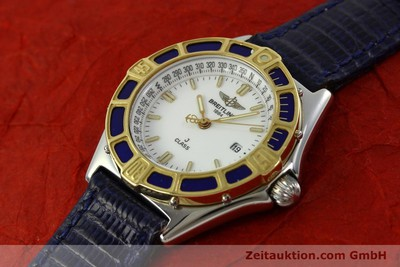 BREITLING LADY J CLASS STAHL/GOLD DAMENUHR TOP D52063 VP: 2290,- EURO [151107]
