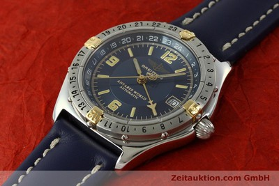 BREITLING COLT GMT ACIER / OR AUTOMATIQUE KAL. B32 ETA 2893-2 LP: 3620EUR [151113]