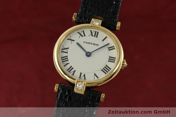 CARTIER VENDOME ORO 18 CT QUARZO KAL. 81 [151115]