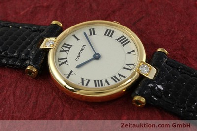 CARTIER VENDOME ORO DE 18 QUILATES CUARZO KAL. 81 [151115]