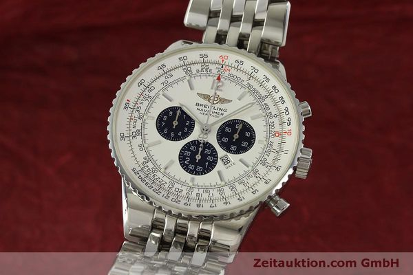 BREITLING NAVITIMER HERITAGE CHRONOGRAPH AUTOMATIK STAHL A35340 VP: 7860,- EURO [151122]