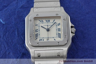 CARTIER SANTOS STEEL QUARTZ KAL. 87 LP: 5000EUR [151126]