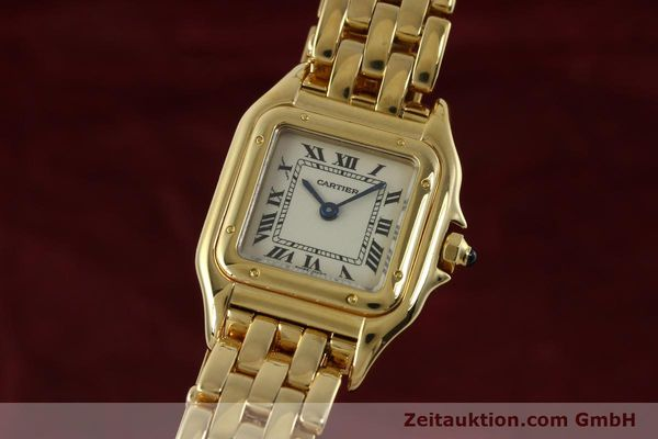 CARTIER PANTHERE ORO 18 CT QUARZO KAL. 187 [151137]