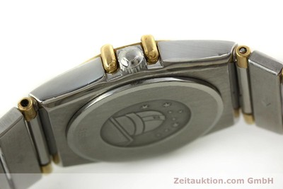 OMEGA CONSTELLATION ACIER / OR QUARTZ KAL. ETA 976.001 LP: 3960EUR [151142]