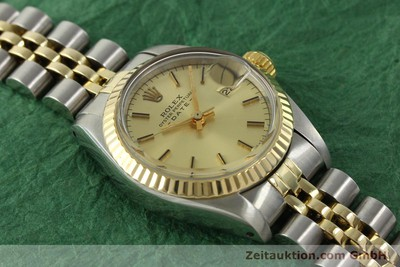 ROLEX LADY DATE ACIER / OR AUTOMATIQUE KAL. 2030 LP: 6950EUR [151144]