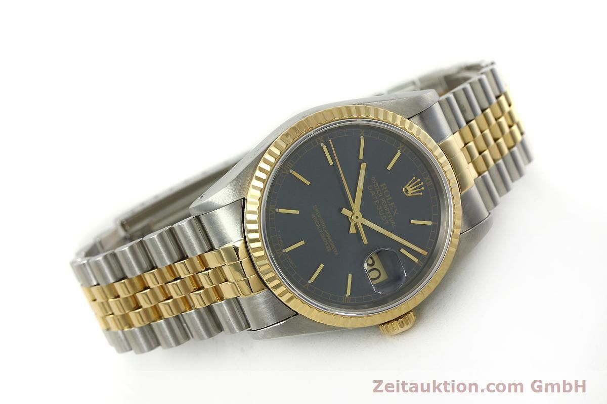 rolex datejust stahl gold automatik. Black Bedroom Furniture Sets. Home Design Ideas