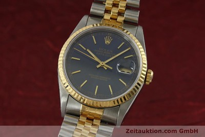 ROLEX DATEJUST ACIER / OR AUTOMATIQUE KAL. 3135 LP: 8800EUR [151145]