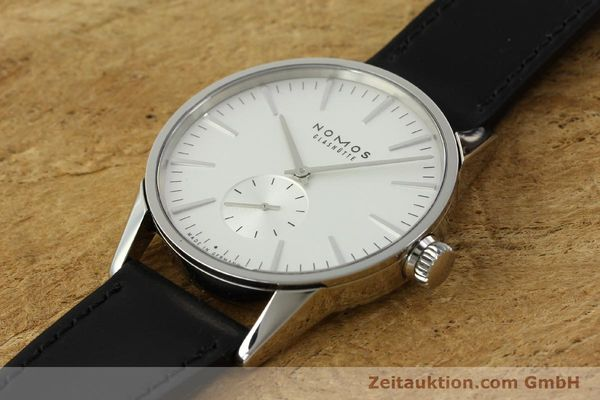 Used luxury watch Nomos Zürich steel automatic Kal. Epsilon 7908  | 151148 01