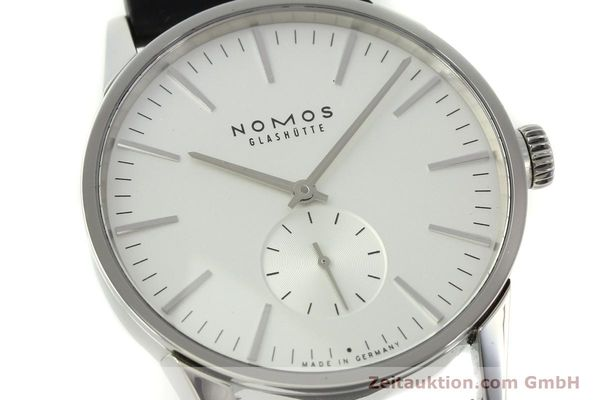 Used luxury watch Nomos Zürich steel automatic Kal. Epsilon 7908  | 151148 02