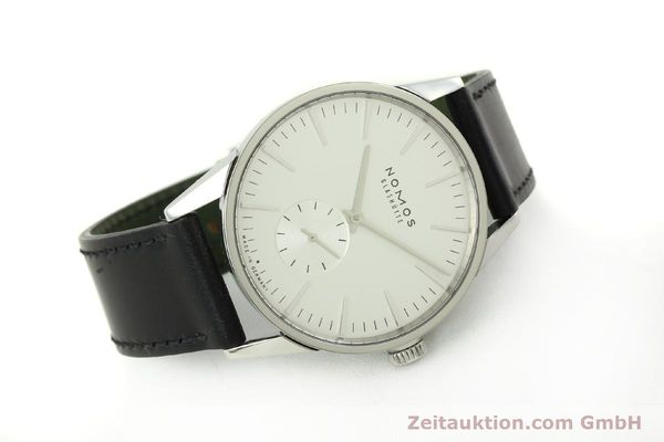 Used luxury watch Nomos Zürich steel automatic Kal. Epsilon 7908  | 151148 03