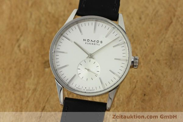 Used luxury watch Nomos Zürich steel automatic Kal. Epsilon 7908  | 151148 04