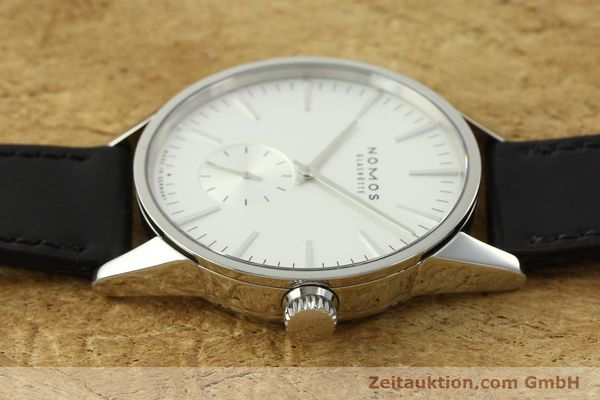 Used luxury watch Nomos Zürich steel automatic Kal. Epsilon 7908  | 151148 05