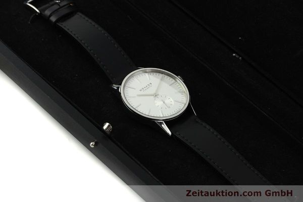 Used luxury watch Nomos Zürich steel automatic Kal. Epsilon 7908  | 151148 07