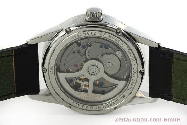 Used luxury watch Nomos Zürich steel automatic Kal. Epsilon 7908  | 151148 09