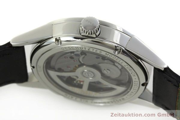 Used luxury watch Nomos Zürich steel automatic Kal. Epsilon 7908  | 151148 11