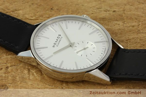 Used luxury watch Nomos Zürich steel automatic Kal. Epsilon 7908  | 151148 15