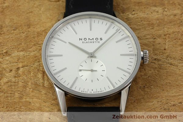 Used luxury watch Nomos Zürich steel automatic Kal. Epsilon 7908  | 151148 16