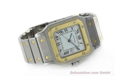 CARTIER SANTOS ACIER / OR AUTOMATIQUE KAL. ETA 2671 LP: 7100EUR [151161]