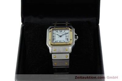 CARTIER SANTOS STEEL / GOLD AUTOMATIC KAL. ETA 2671 LP: 7100EUR [151161]