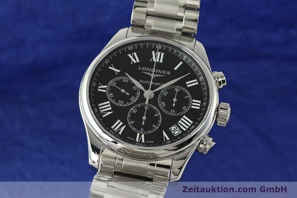 LONGINES MASTER COLLECTION CHRONOGRAPHE ACIER AUTOMATIQUE KAL. L696.2 ETA A07231 LP: 2380EUR [151170]