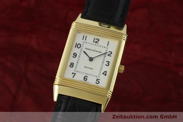 JAEGER LE COULTRE REVERSO 18 CT GOLD MANUAL WINDING KAL. 846 LP: 11400EUR [151172]