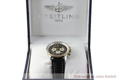 BREITLING NAVITIMER CHRONOGRAPH STEEL / GOLD AUTOMATIC KAL. LWO 1873 [151173]