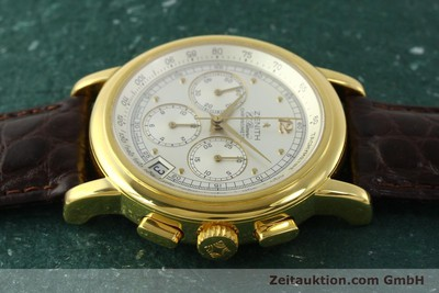 ZENITH ELPRIMERO CHRONOGRAPHE OR 18 CT AUTOMATIQUE KAL. 400 LP: 15100EUR [151174]
