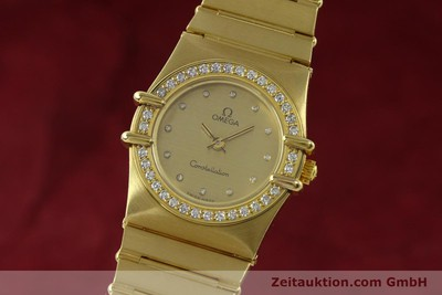 OMEGA CONSTELLATION ORO 18 CT QUARZO KAL. 1455 ETA 279.001 LP: 22100EUR VINTAGE [151184]