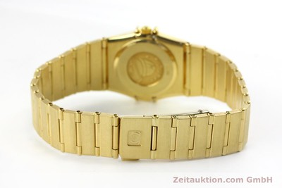 OMEGA LADY 18K GOLD CONSTELLATION DIAMANTEN DAMENUHR VP: 22100,- EURO [151184]