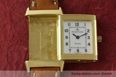 JAEGER LE COULTRE REVERSO OR 18 CT QUARTZ KAL. 608 LP: 10400EUR [151185]