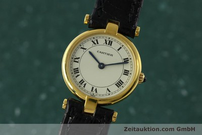 CARTIER 18 CT GOLD QUARTZ KAL. 81 [151202]