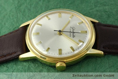 GLASHÜTTE GOLD-PLATED MANUAL WINDING KAL. 69.1 [151205]