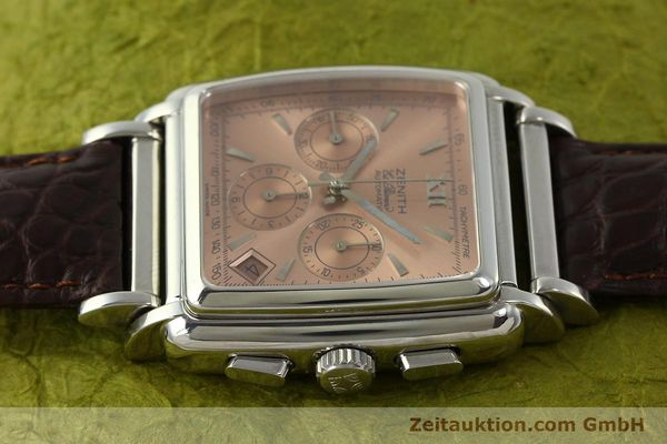 Used luxury watch Zenith El Primero chronograph steel automatic Kal. 400 Ref. 90/01 0420 400  | 151210 05