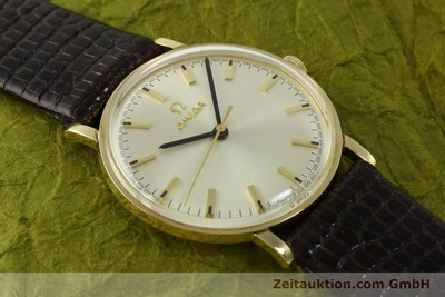 OMEGA 14 CT YELLOW GOLD MANUAL WINDING KAL. 601 VINTAGE [151212]