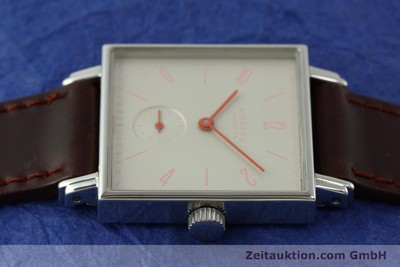 NOMOS TETRA STEEL MANUAL WINDING KAL. ALPHA 33573 LP: 1440EUR [151239]