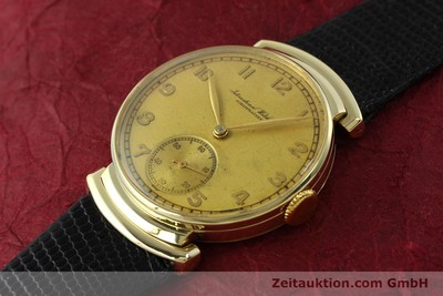 IWC 14 CT YELLOW GOLD MANUAL WINDING KAL. 83 VINTAGE [151241]
