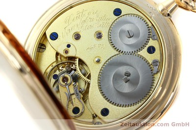 A. LANGE & SÖHNE DUF 14 CT YELLOW GOLD MANUAL WINDING KAL. 43 [151245]