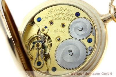 A. LANGE & SÖHNE DUF 14 CT YELLOW GOLD MANUAL WINDING KAL. 43 [151246]